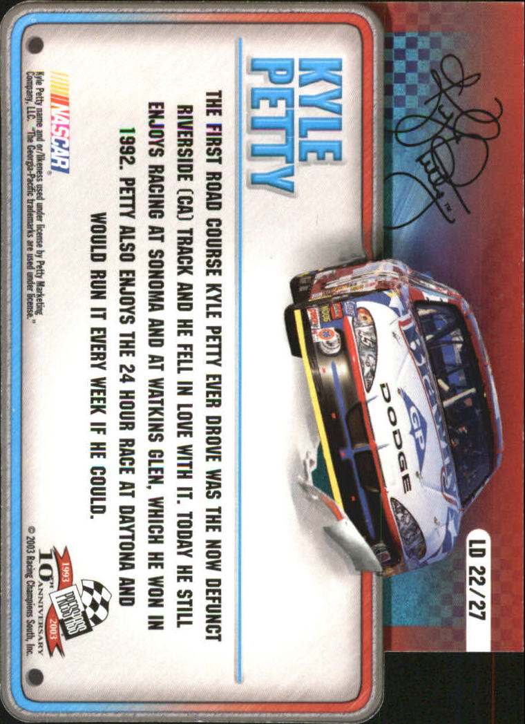 2003-Press-Pass-Racing-Eclipse-Stealth-Inserts-You-Pick-Buy-10-cards-FREE-SHIP thumbnail 341