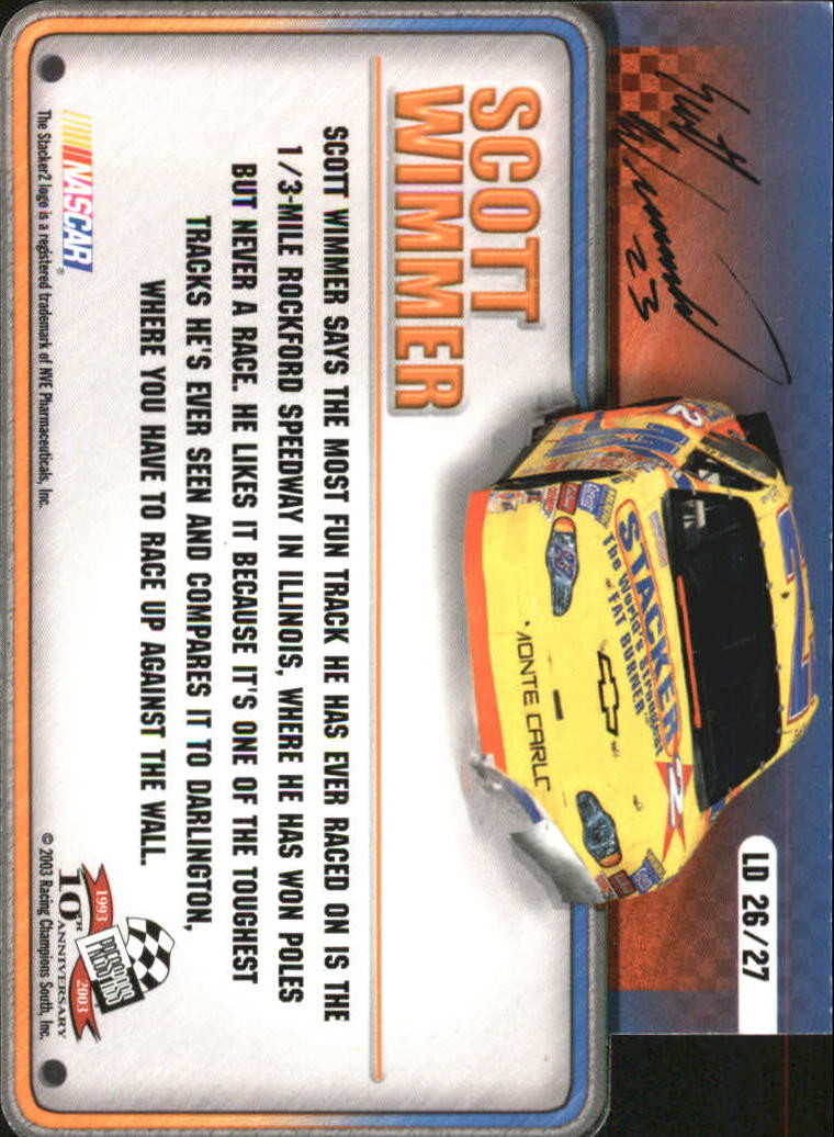 2003-Press-Pass-Racing-Eclipse-Stealth-Inserts-You-Pick-Buy-10-cards-FREE-SHIP thumbnail 349