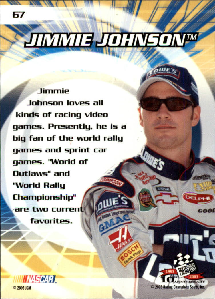 2003-Press-Pass-Racing-Eclipse-Stealth-Inserts-You-Pick-Buy-10-cards-FREE-SHIP thumbnail 32