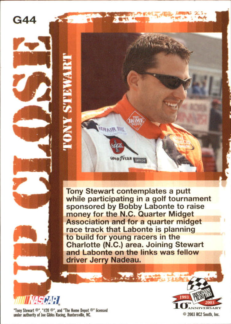 2003-Press-Pass-Racing-Eclipse-Stealth-Inserts-You-Pick-Buy-10-cards-FREE-SHIP thumbnail 20