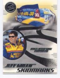 2003 Press Pass Eclipse Skidmarks #SM17 Jeff Green