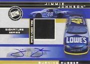 2003 Press Pass Burning Rubber Cars Autographs #BRTJJ Jimmie Johnson/48