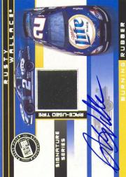 2003 Press Pass Burning Rubber Cars Autographs #BRTRW Rusty Wallace/2