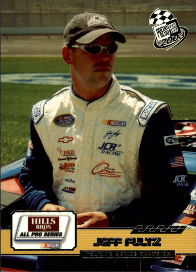 2003 Press Pass #88 Jeff Fultz RC