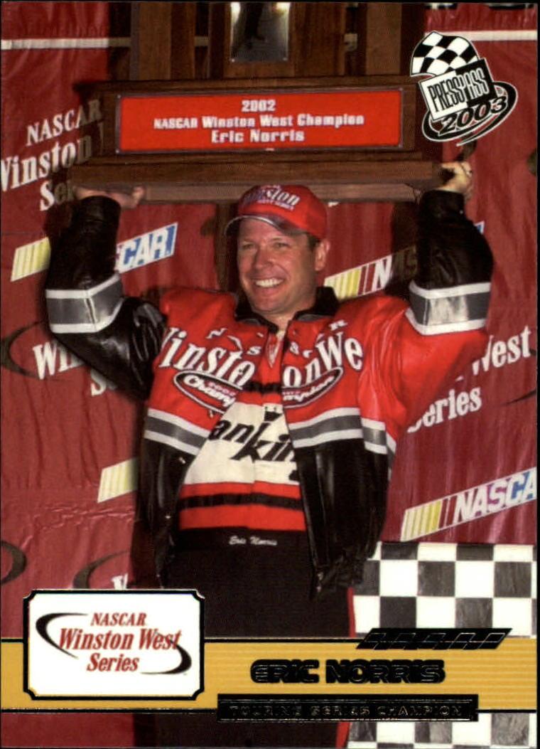 2003 Press Pass #89 Eric Norris RC