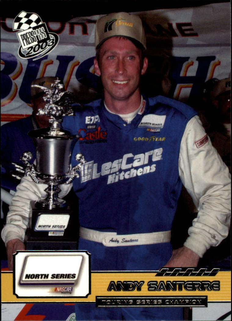 2003 Press Pass #90 Andy Santerre RC