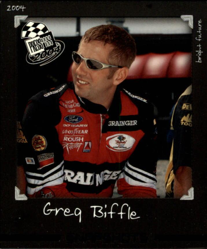 2004 Press Pass Snapshots #SN1 Greg Biffle