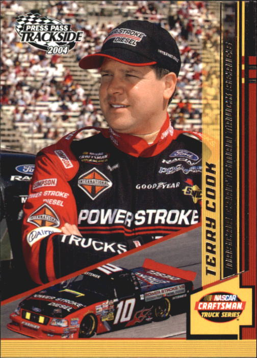 2004 Press Pass Trackside #49 Terry Cook RC