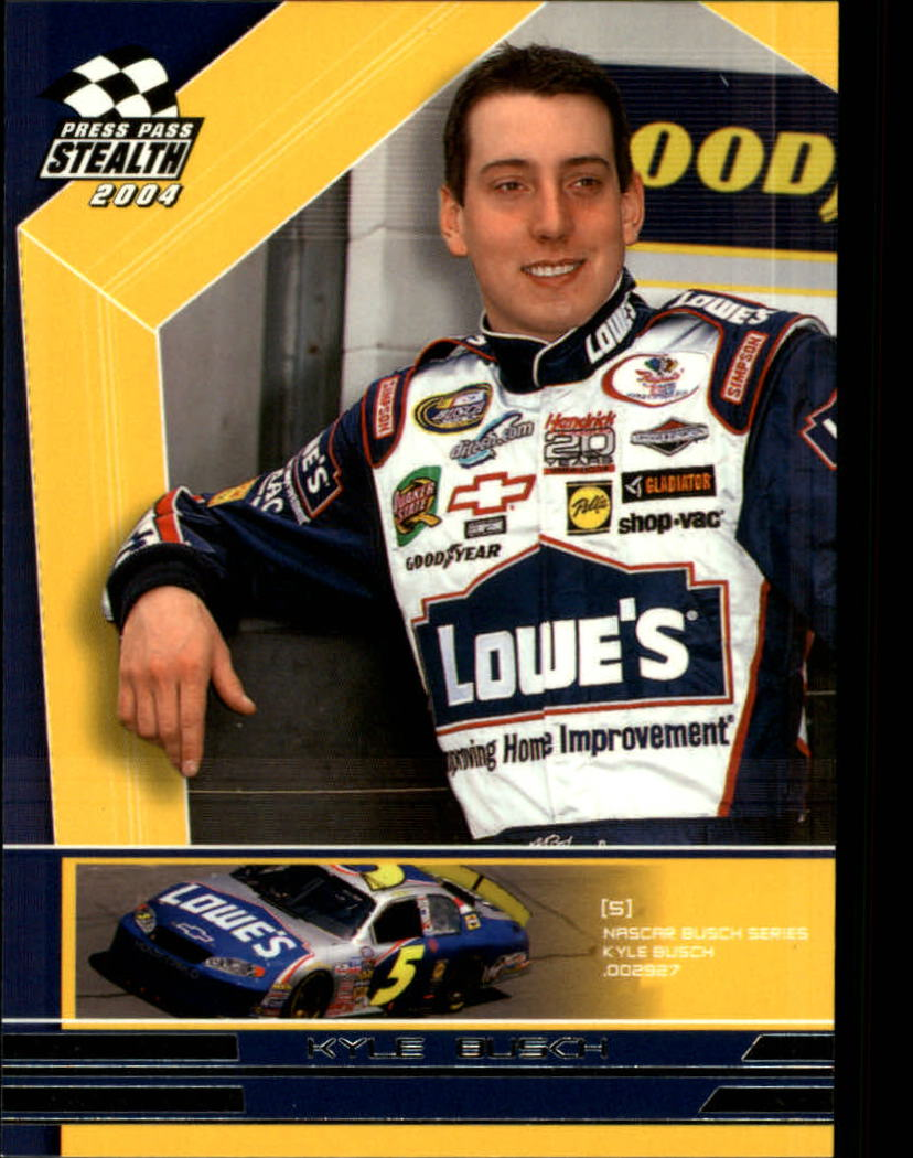2004 Press Pass Stealth #65 Kyle Busch RC