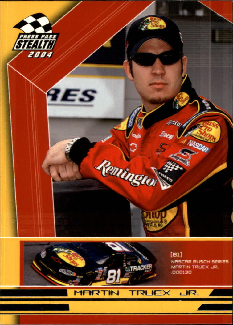 2004 Press Pass Stealth #71 Martin Truex Jr. RC