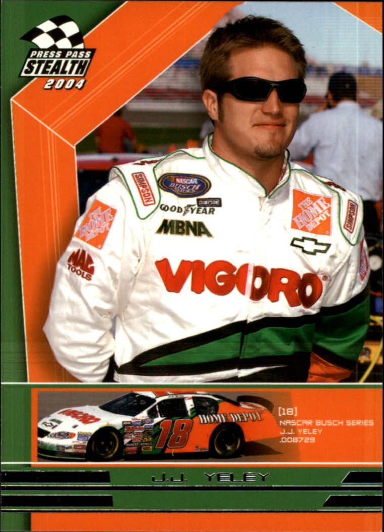 2004 Press Pass Stealth #72 J.J. Yeley RC