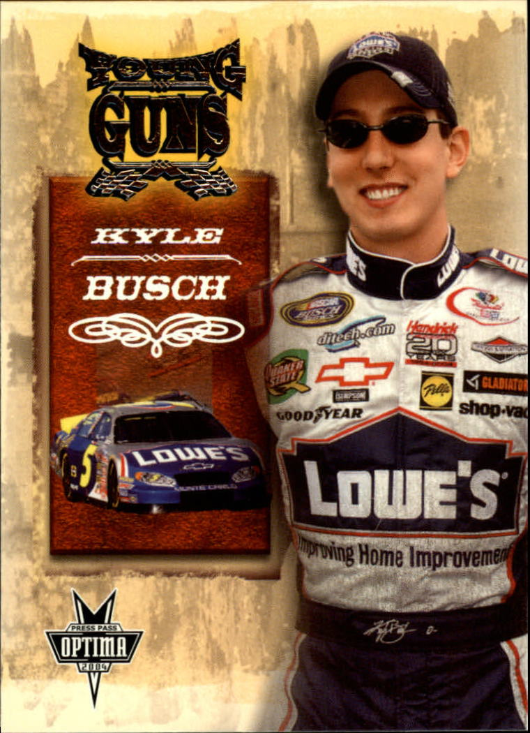 2004 Press Pass Optima #54 Kyle Busch YG RC