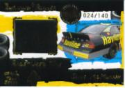 2004 Press Pass Burning Rubber Cars #BRT12 Jamie McMurray's Car