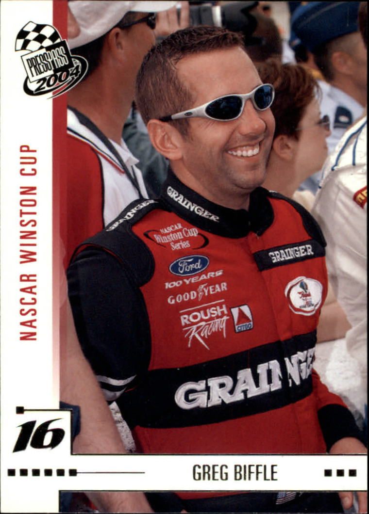 2004 Press Pass #1 Greg Biffle