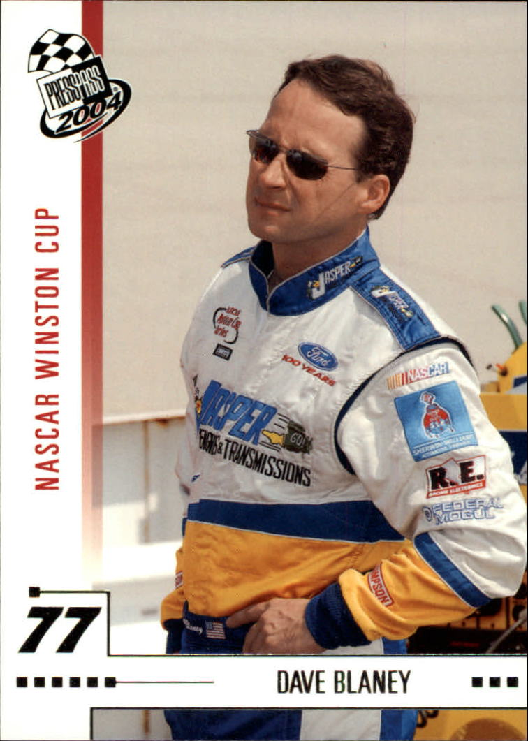 2004 Press Pass #2 Dave Blaney