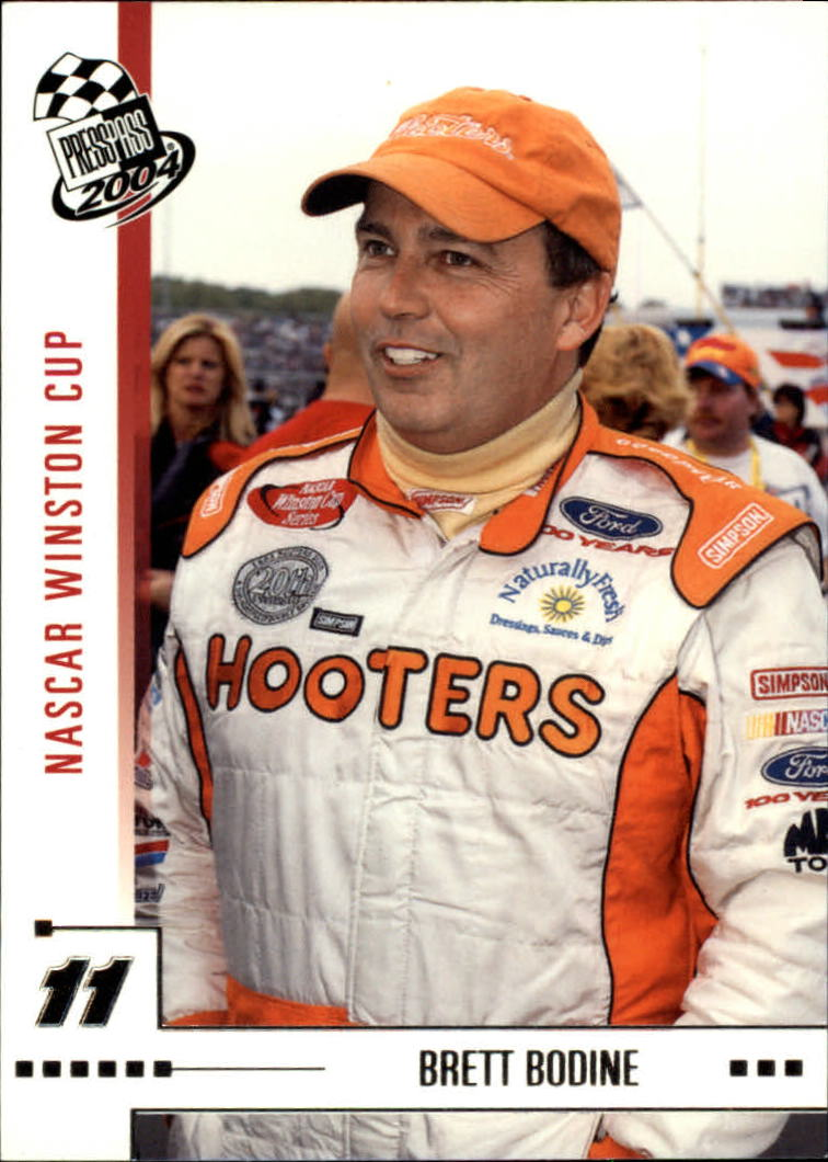 2004 Press Pass #3 Brett Bodine