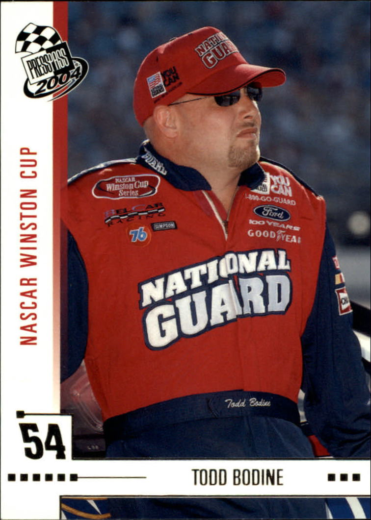 2004 Press Pass #4 Todd Bodine
