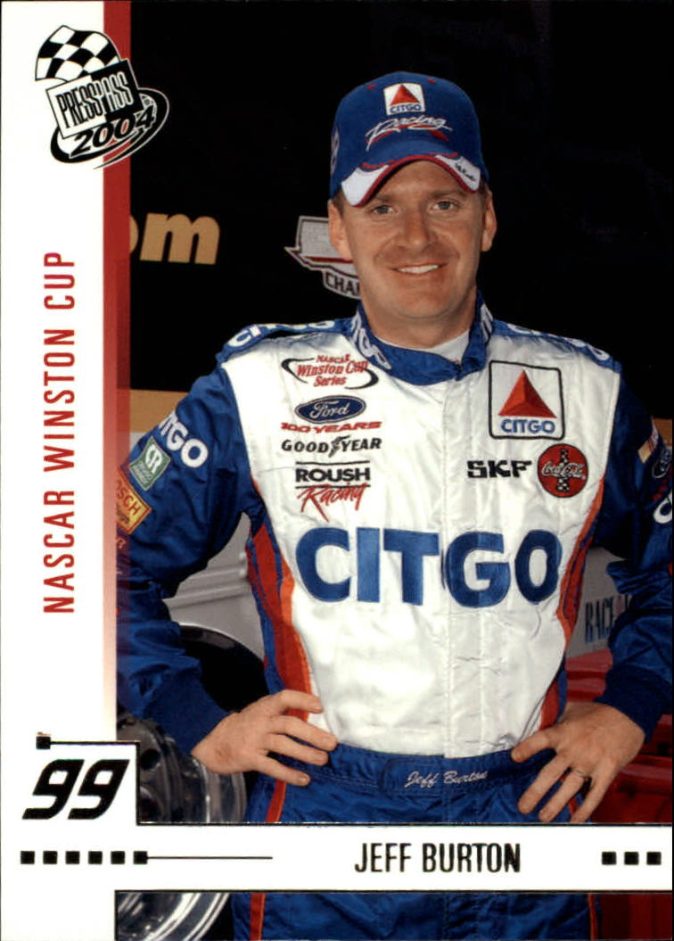 2004 Press Pass #5 Jeff Burton