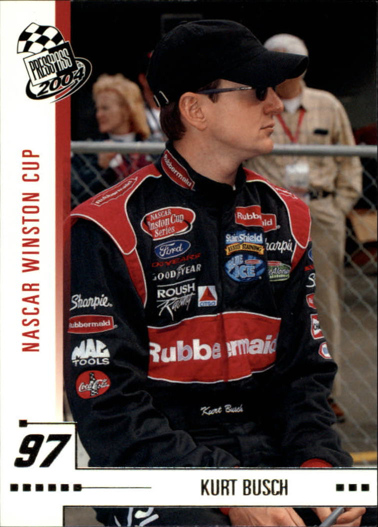 2004 Press Pass #7 Kurt Busch