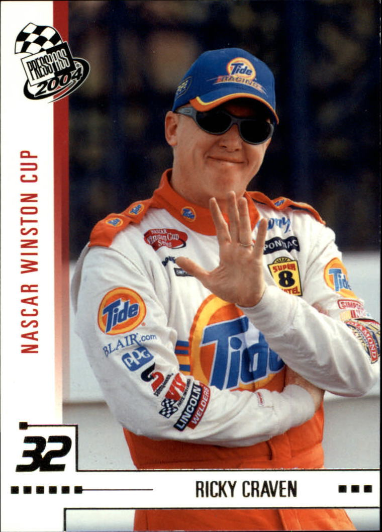 2004 Press Pass #8 Ricky Craven