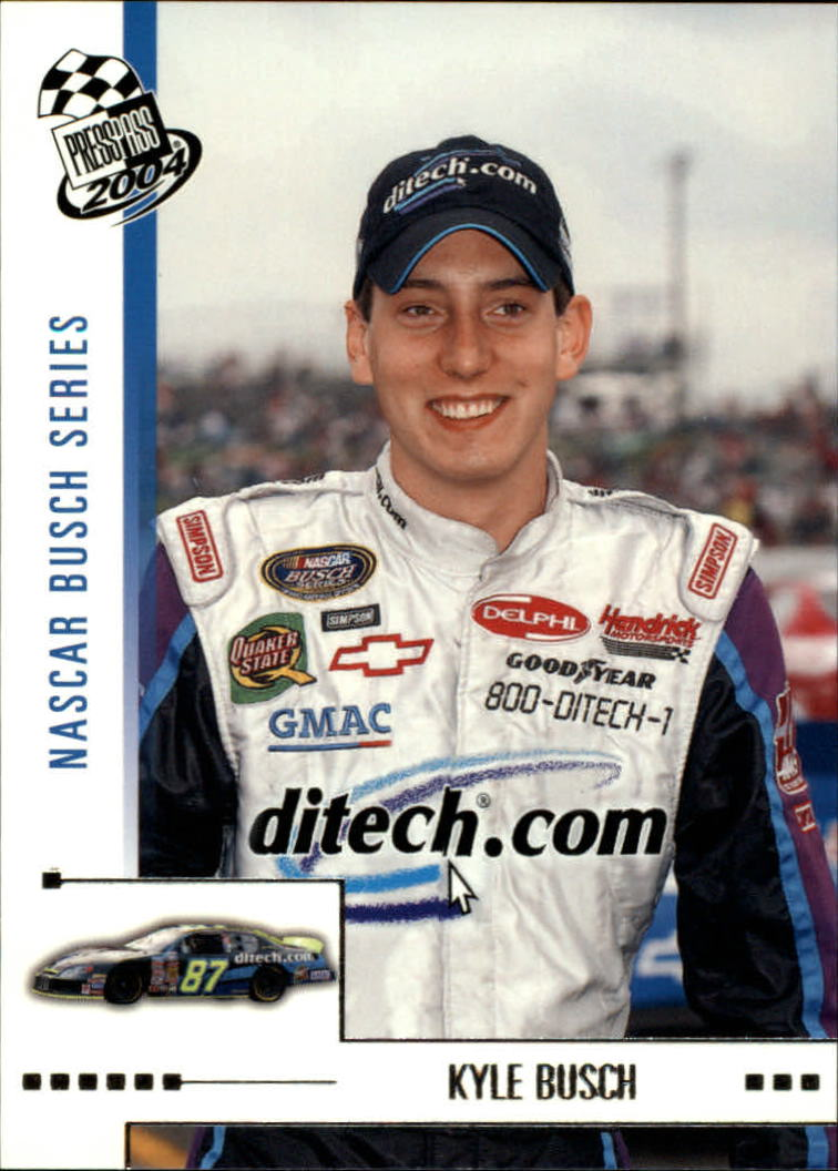 2004 Press Pass #38 Kyle Busch RC