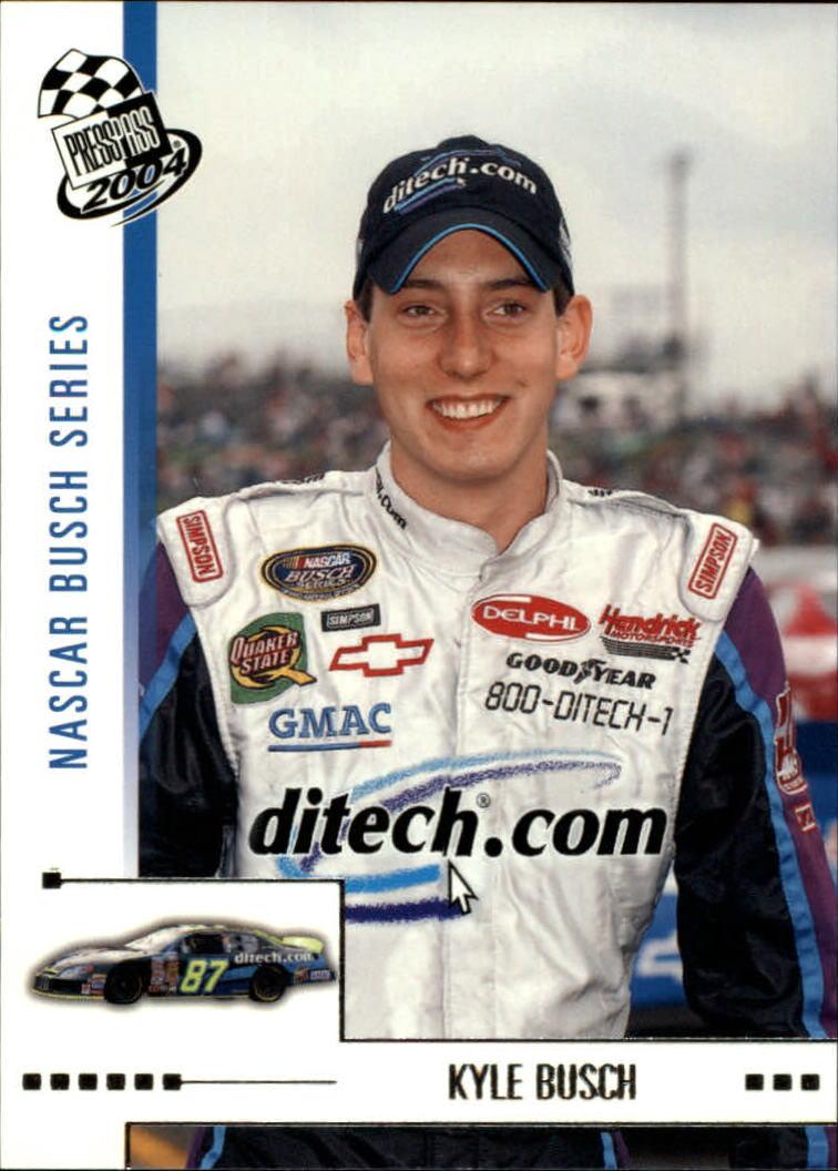 2004 Press Pass #38 Kyle Busch RC