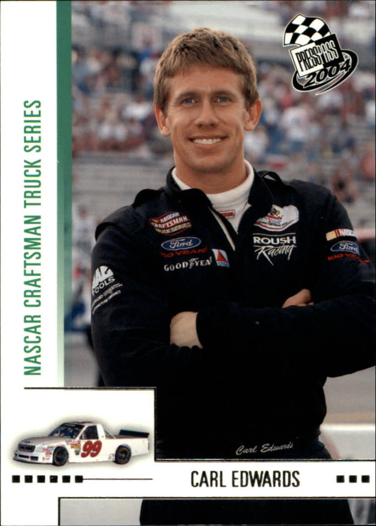 2004 Press Pass #51 Carl Edwards