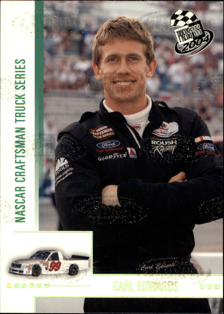 2004 Press Pass Platinum #P51 Carl Edwards