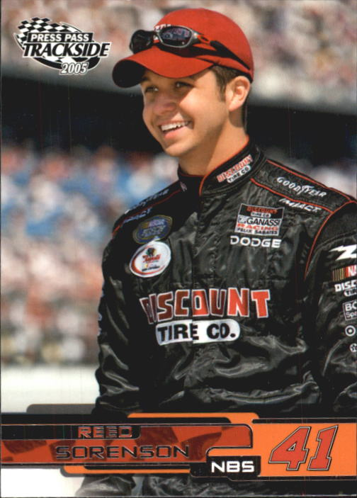2005 Press Pass Trackside #41 Reed Sorenson RC