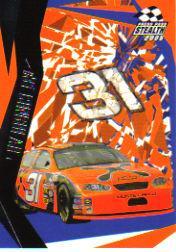 2005 Press Pass Stealth #40 Jeff Burton's Car