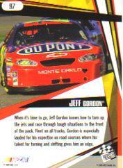 2005 Press Pass Stealth #97 Jeff Gordon SF back image