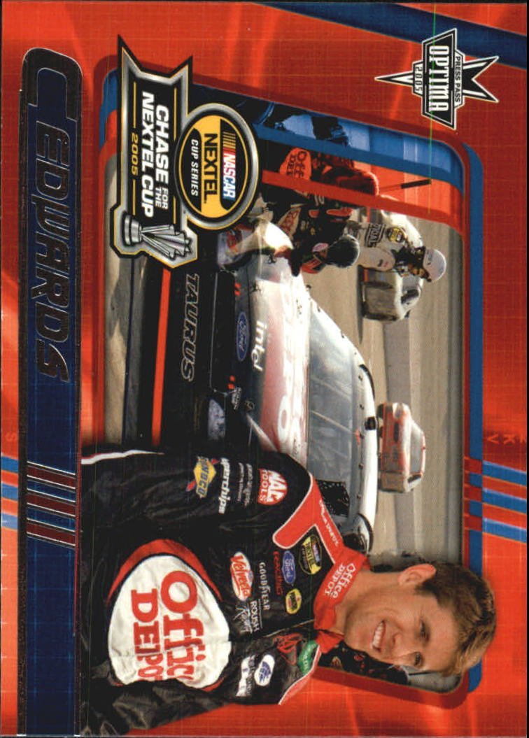 2005 Press Pass Optima #9 Carl Edwards CRC