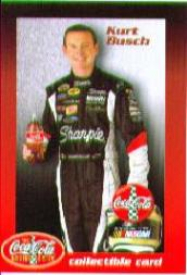 2005 Coca-Cola Racing Family AutoZone #1 Kurt Busch