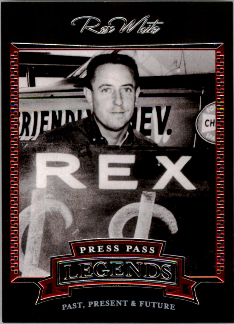2005 Press Pass Legends #8 Rex White
