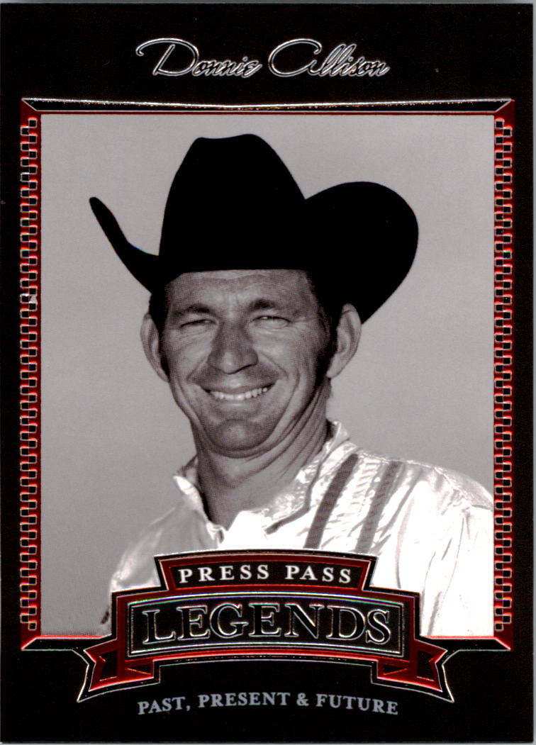 2005 Press Pass Legends #16 Donnie Allison