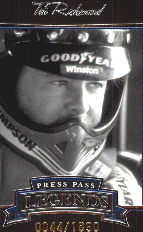 2005 Press Pass Legends Blue #23B Tim Richmond