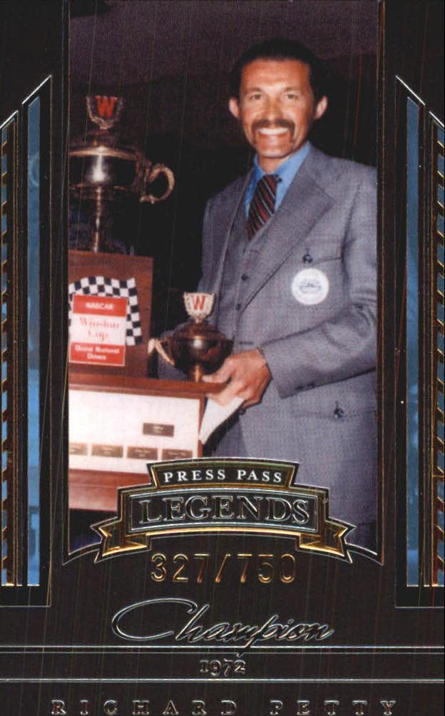 2005 Press Pass Legends Gold #34G Richard Petty C