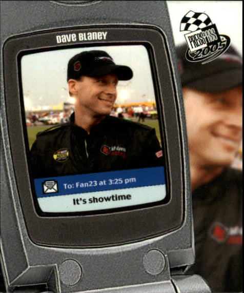 2005 Press Pass Snapshots #SN2 Dave Blaney