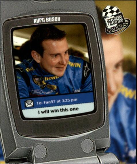2005 Press Pass Snapshots #SN4 Kurt Busch