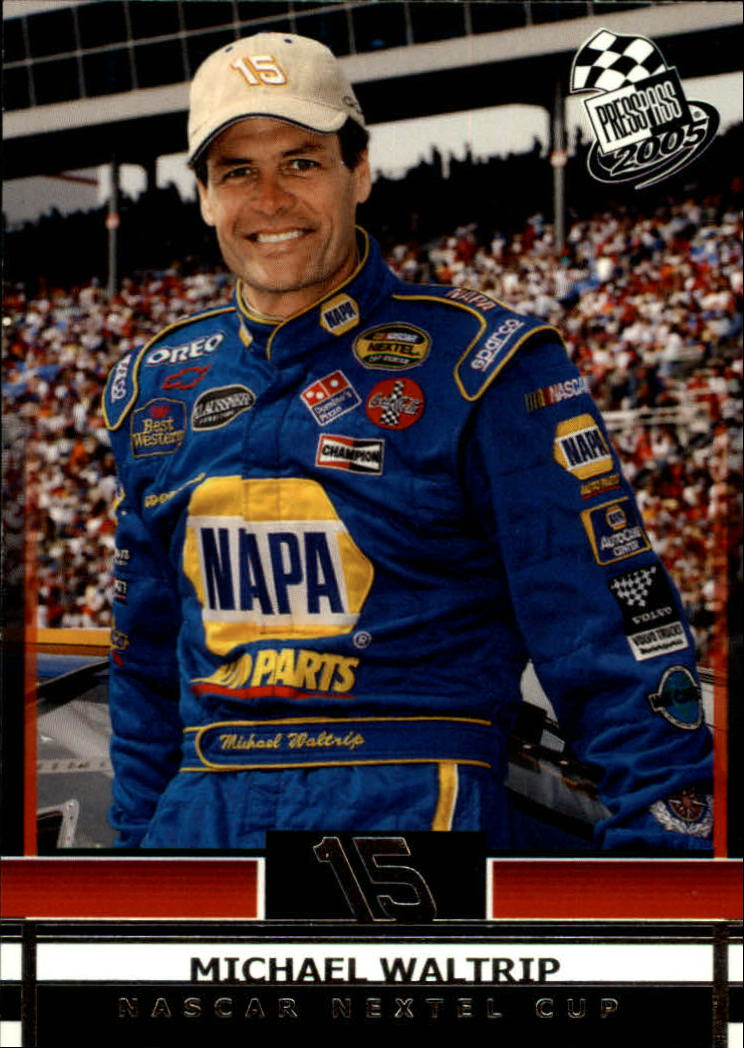 2005 Press Pass #10 Michael Waltrip