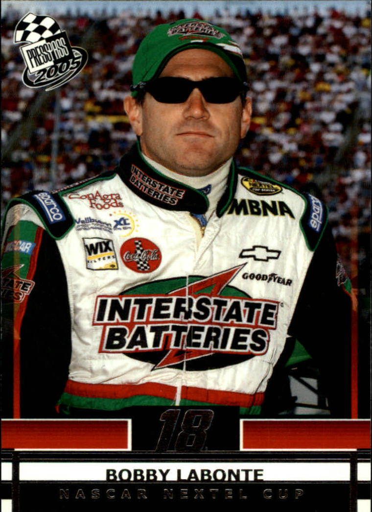 2005 Press Pass #13 Bobby Labonte