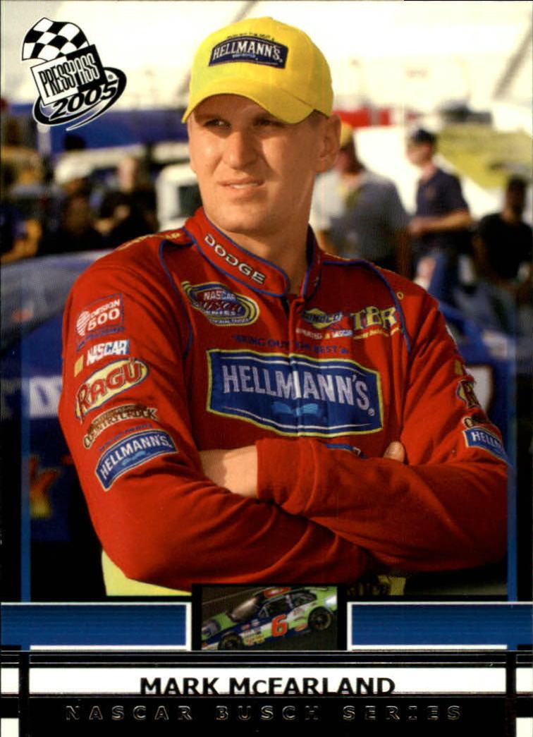 2005 Press Pass #40 Mark McFarland RC