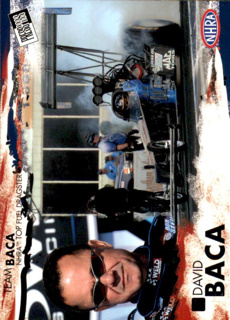 2005 Press Pass NHRA #1 David Baca RC