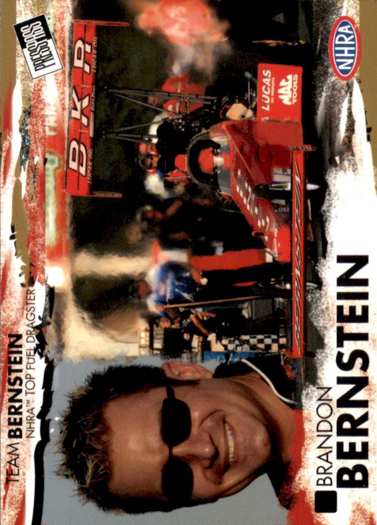 2005 Press Pass NHRA #2 Brandon Bernstein RC