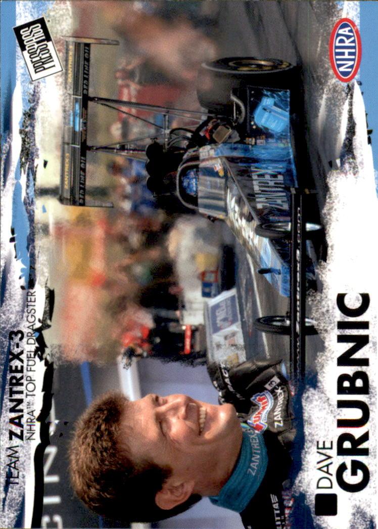 2005 Press Pass NHRA #3 Dave Grubnic RC