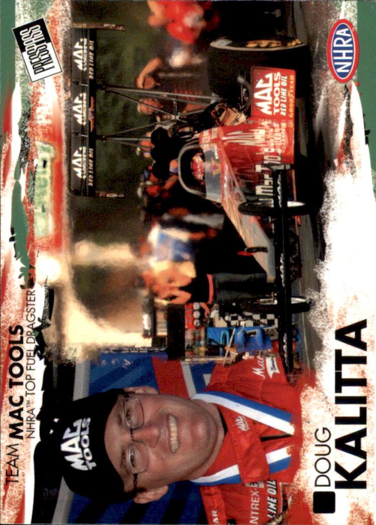 2005 Press Pass NHRA #5 Doug Kalitta RC