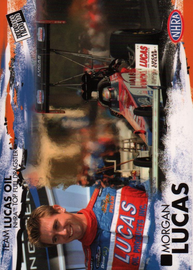 2005 Press Pass NHRA #7 Morgan Lucas RC