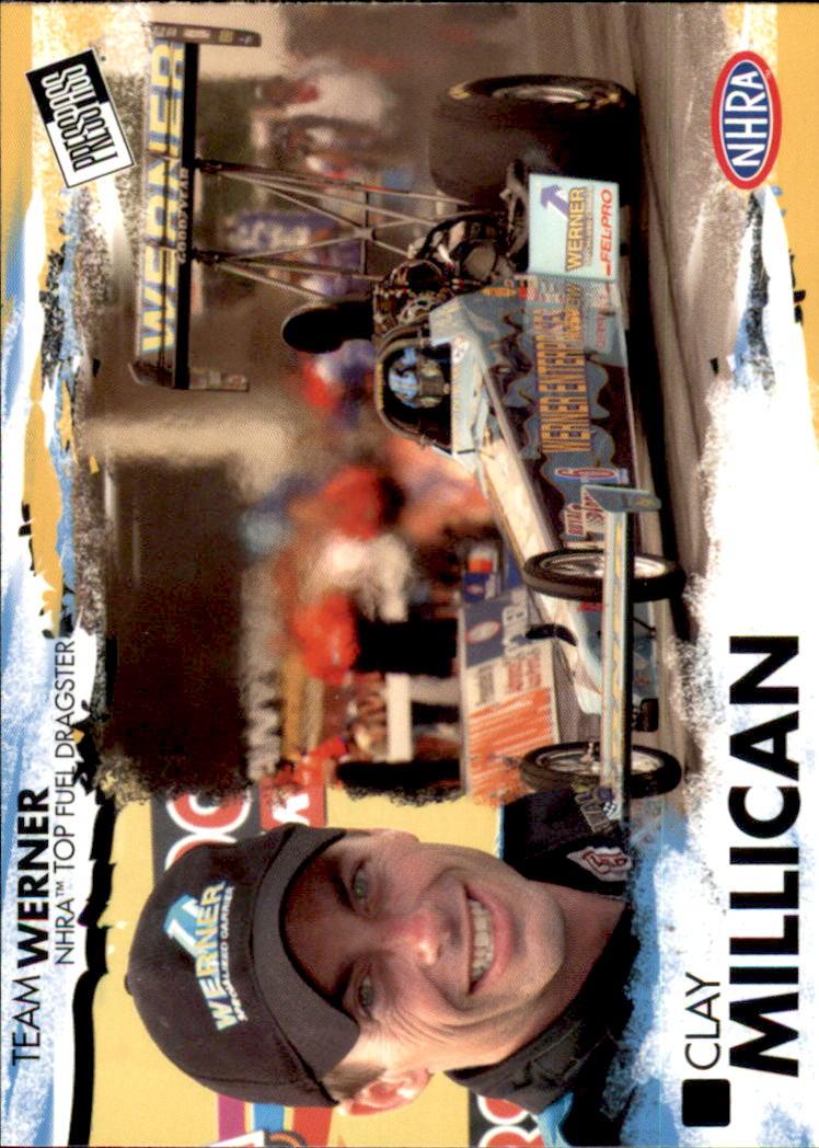 2005 Press Pass NHRA #9 Clay Millican RC