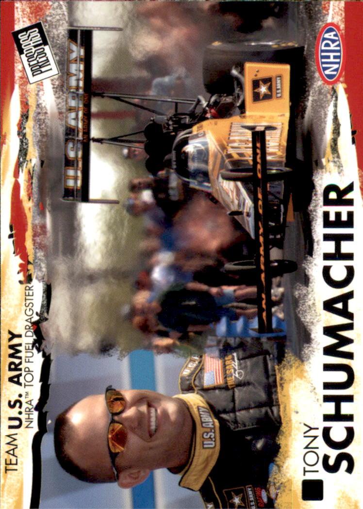 2005 Press Pass NHRA #10 Tony Schumacher RC