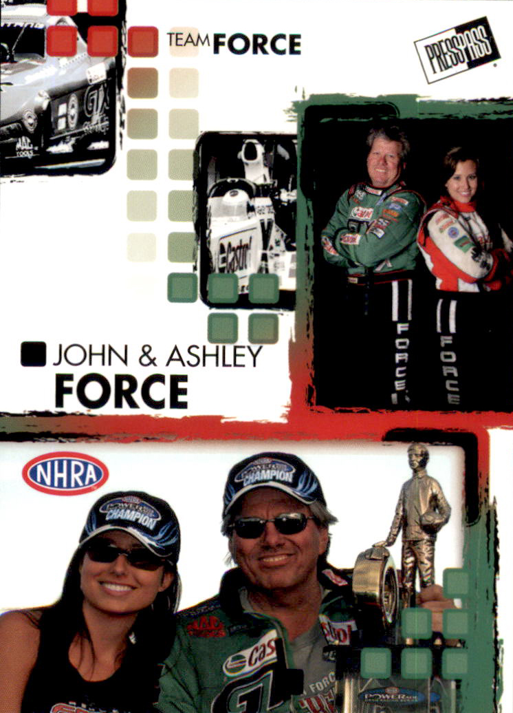 2005 Press Pass NHRA #18 J.Force/A.Force RC